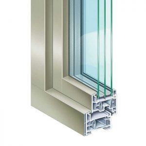Châssis -fenêtres PVC -ALU