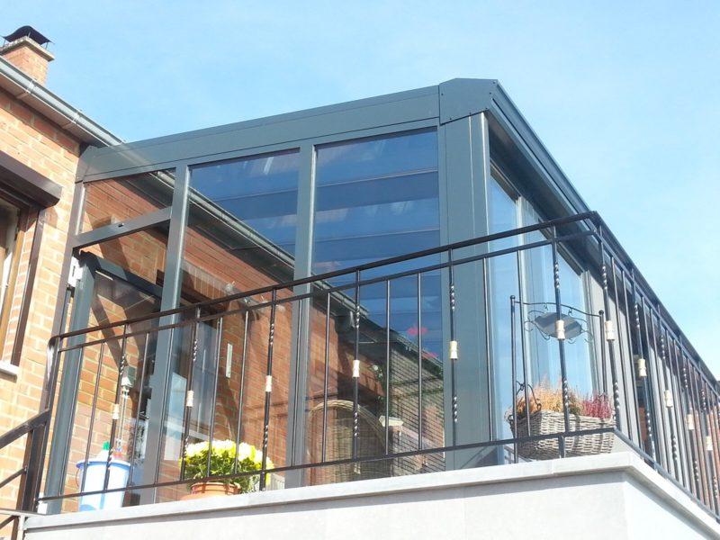 Veranda Terrasse Aluminium Schüco