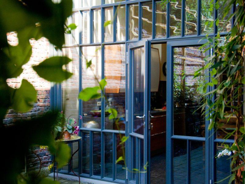 Grande Façade vitrée - Mur Rideau pour maison jointive