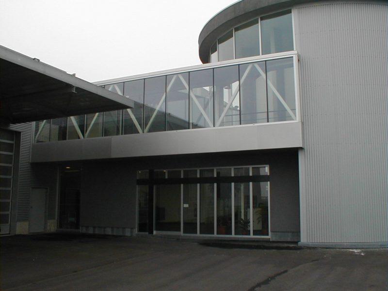 Mur rideau Aluminium