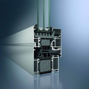 fabrication de châssis basse énergie Schûco AWS 75.SI