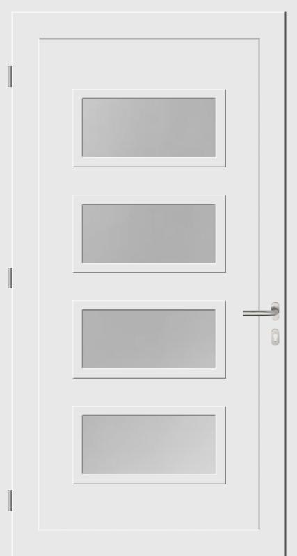 Porte standard de l'intérieur