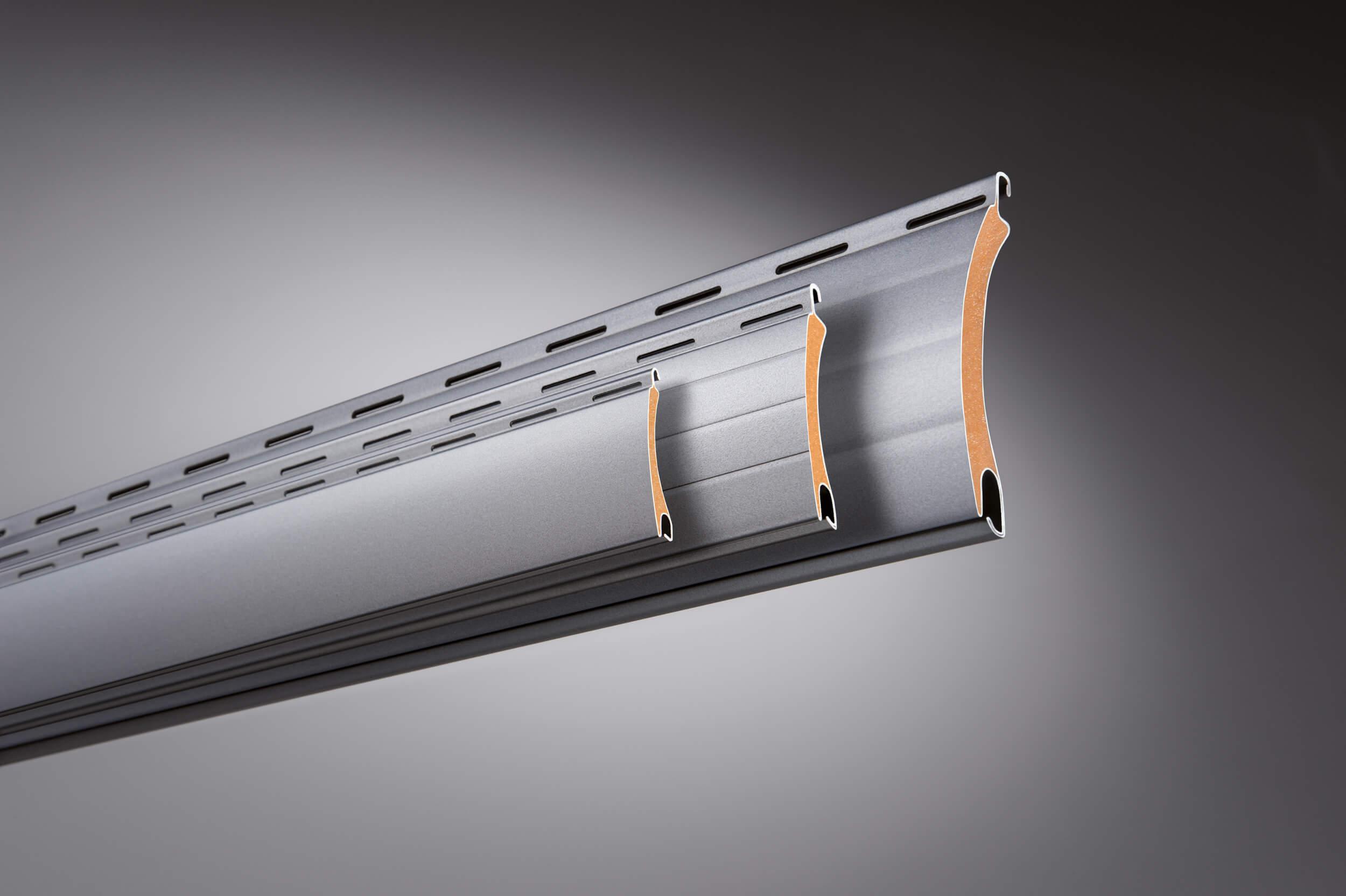 Rollladen Lamellen aus Aluminium