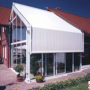 protection solaire pour véranda