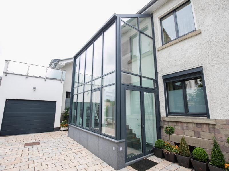 Annexe de maison aluminium